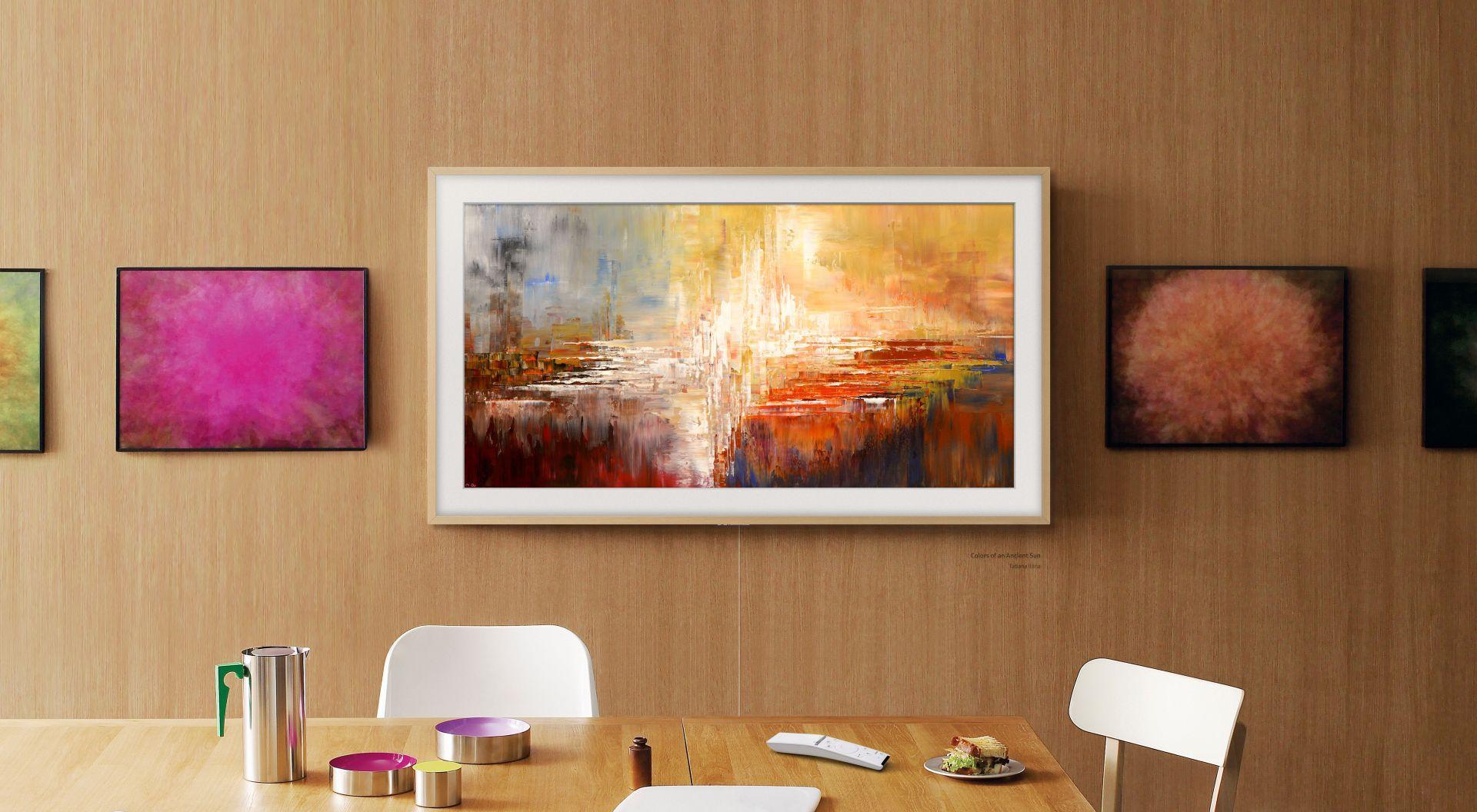 Kup telewizor Samsung The Frame, dzieła sztuki dostaniesz gratis!