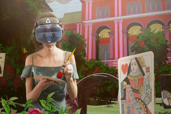 Chcesz poczuć się jak Alicja w Krainie Czarów? Wystawa w VR Ci to umożliwi