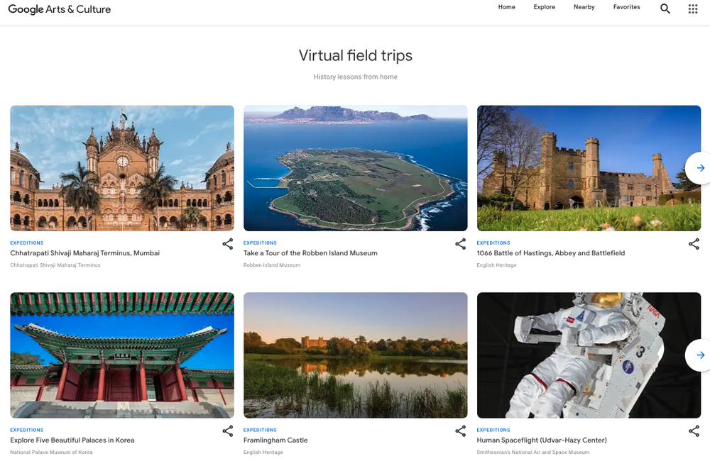 Google Ekspedycje kończą swoją działalność, jednak wystawy trafią do aplikacji Google Arts & Culture (fot. Google)