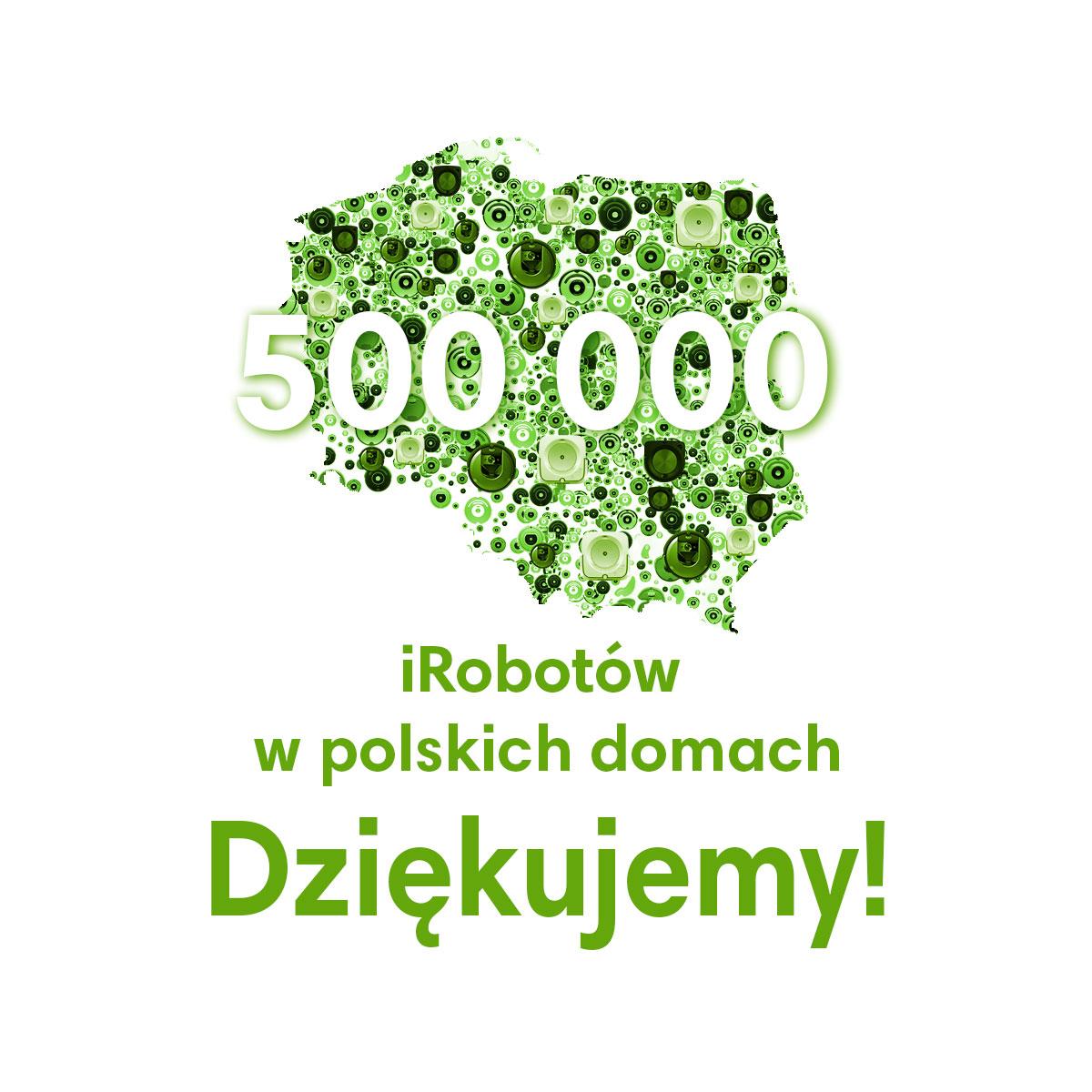 iRobot 500 tysięcy