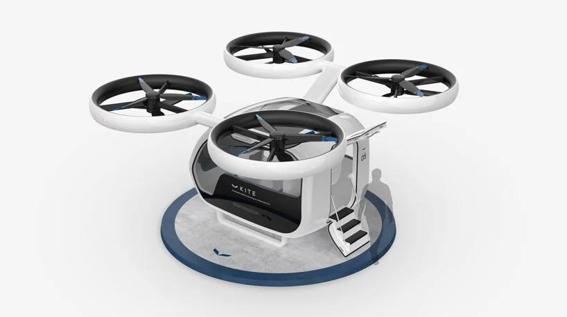 Nowa kategoria transportu publicznego. Poznajcie drona pasażerskiego KITE