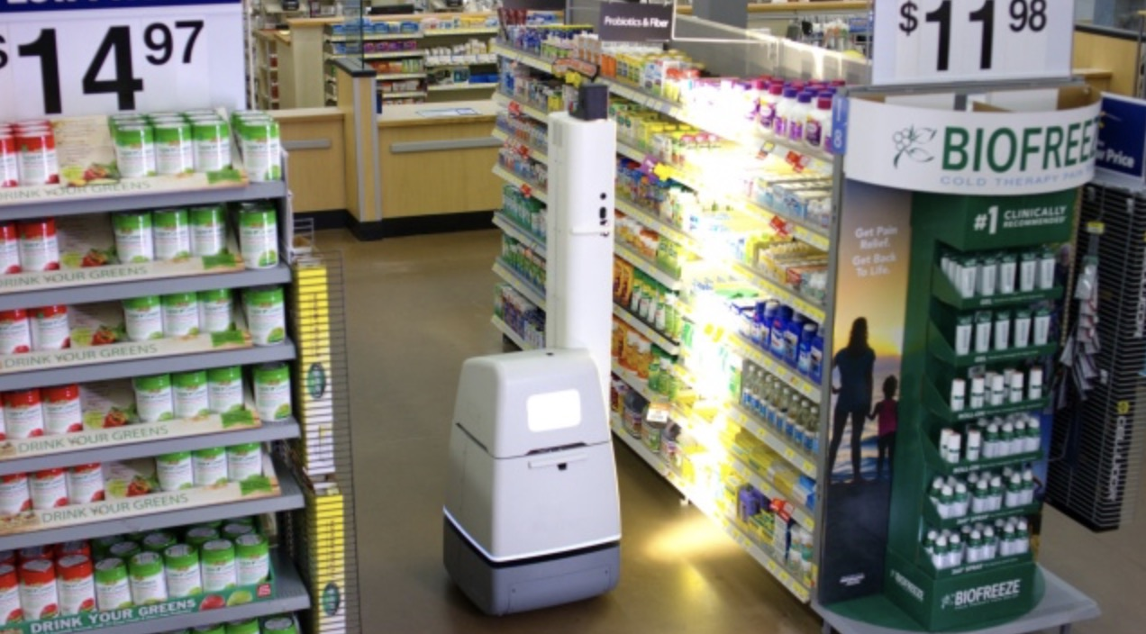 Robot w Walmart