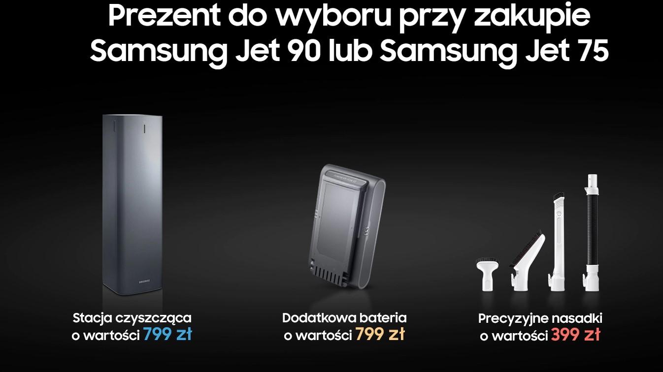 Samsung odkurzacze