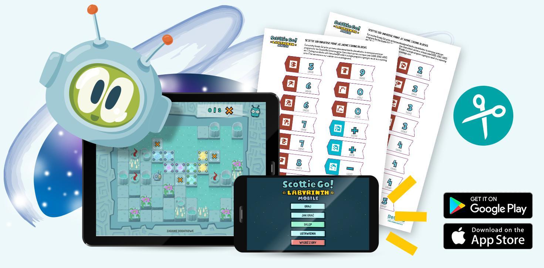 Scottie Go! Labyrinth Mobile - sympatyczny kosmita od teraz na smartfonie