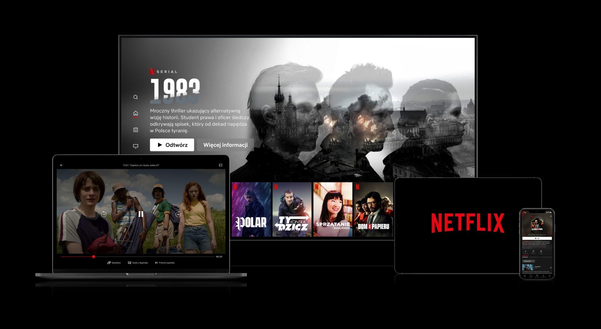 Netflix używa Sztucznej Inteligencji