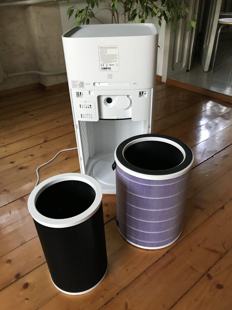 Filtr Viomi Smart Air Purifier Pro UV jest dużo większy od tego co jest znane na rynku