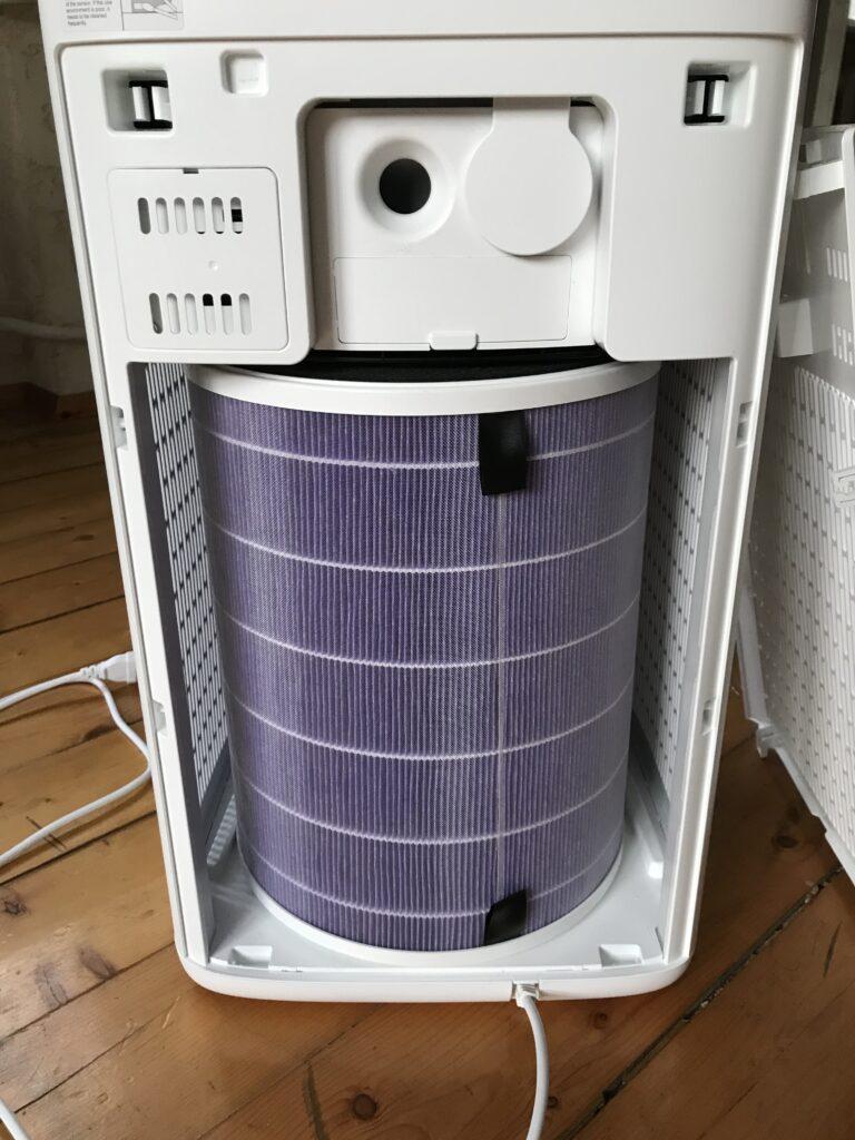Viomi Smart Air Purifier Pro UV - filtr w komorze