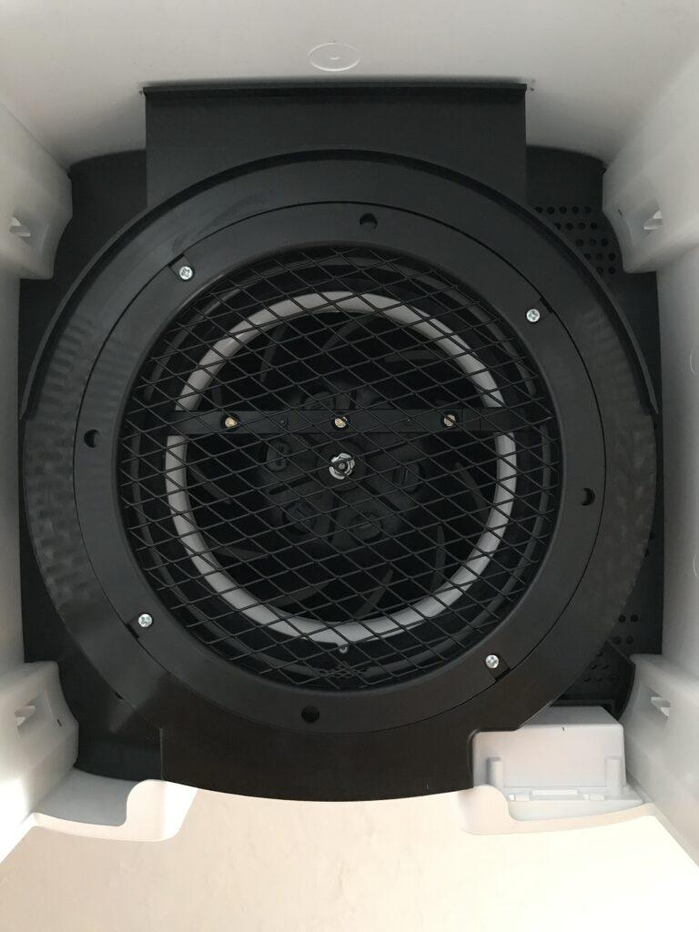 Viomi Smart Air Purifier Pro UV - widok silnika od dołu