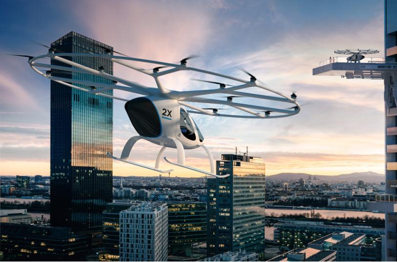 Volocopter uskrzydli taksówki w Singapurze już w 2023 roku