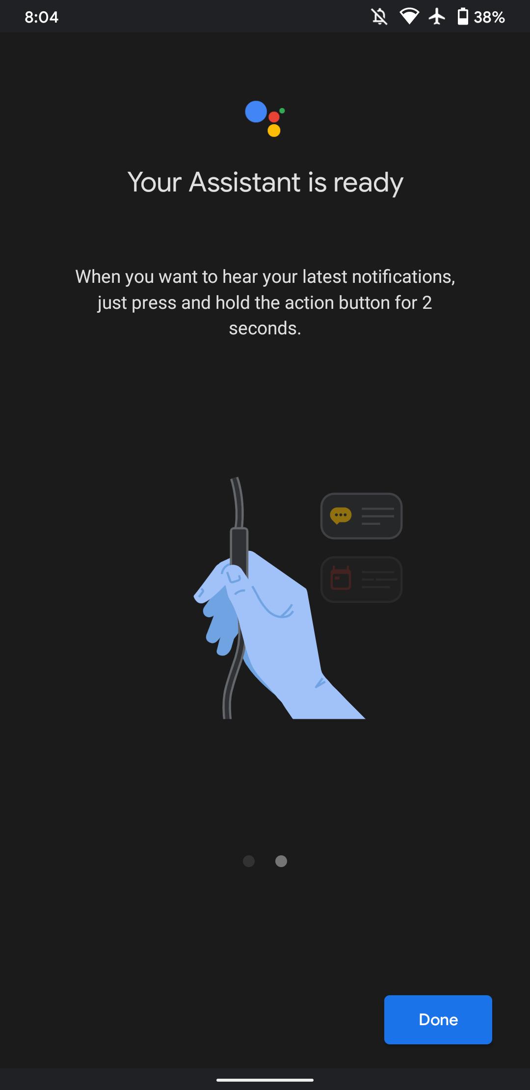Komunikaty z Asystenta Google teraz też na słuchawkach przewodowych
