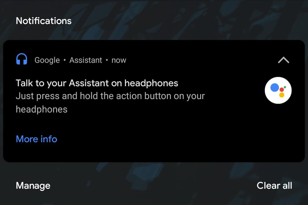 Asystent Google umożliwi odczytywanie powiadomień na każdych słuchawkach przewodowych (fot. 9to5google)