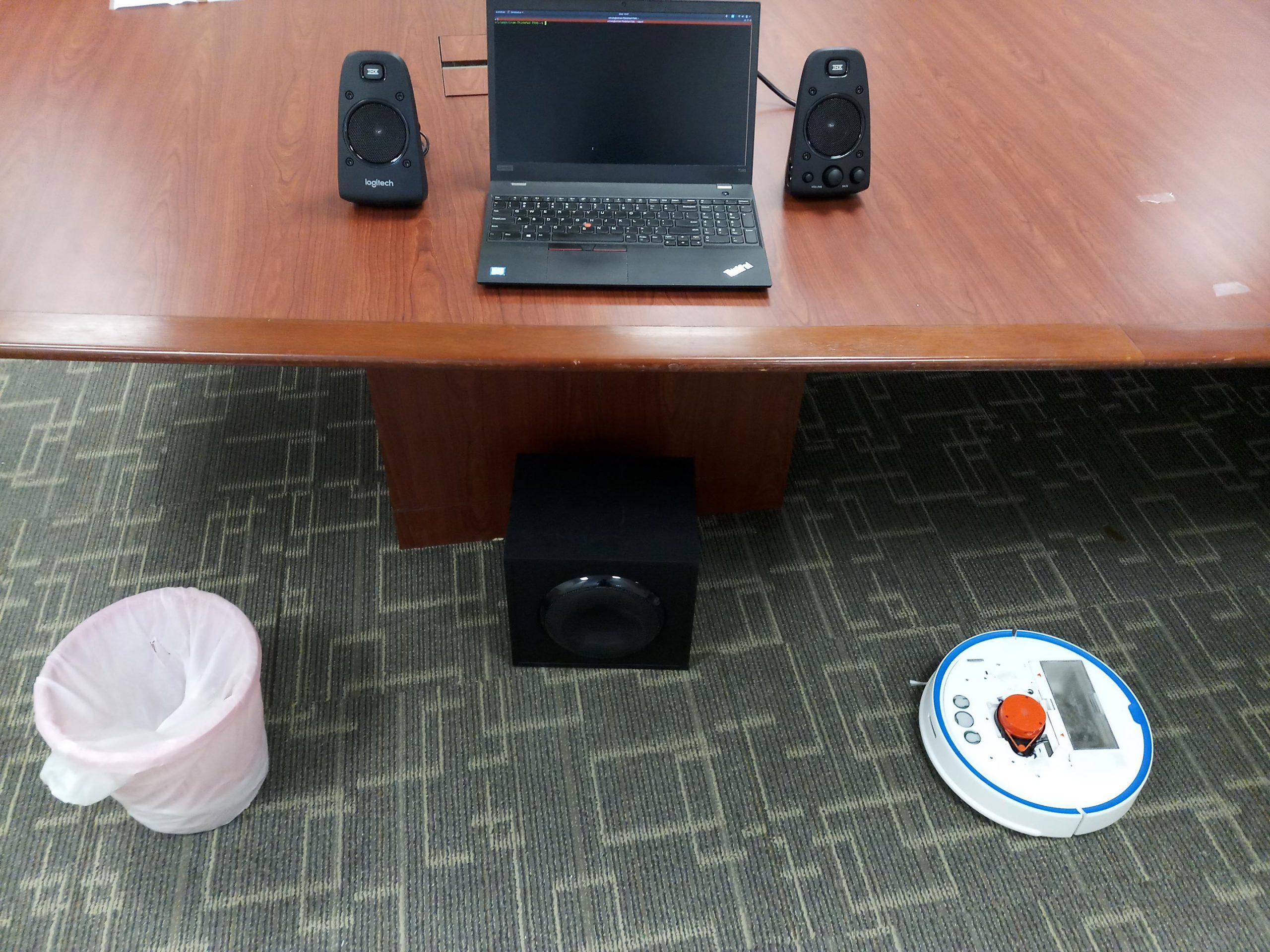 Automatyczny odkurzacz może służyć jako podsłuch