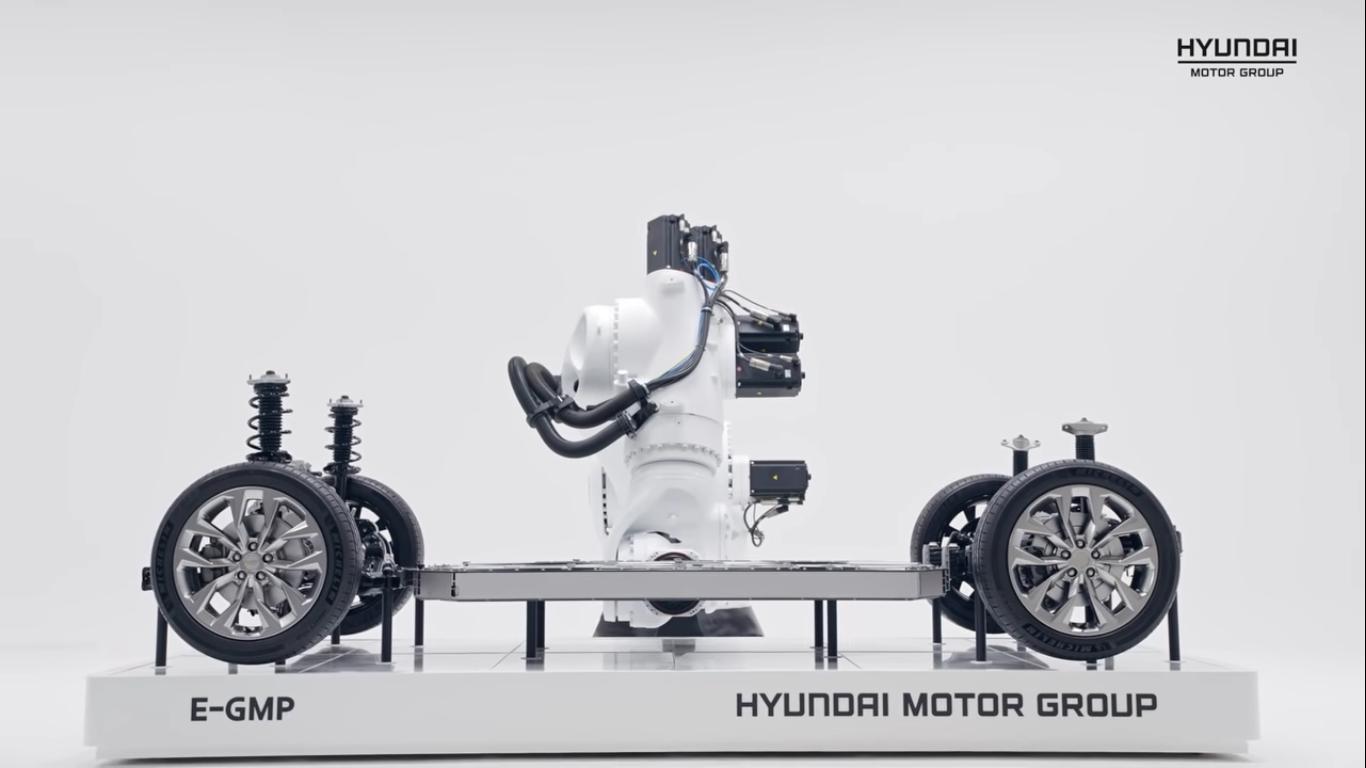 Hyundai E-GMP - przyszłość koreańskich samochodów elektrycznych