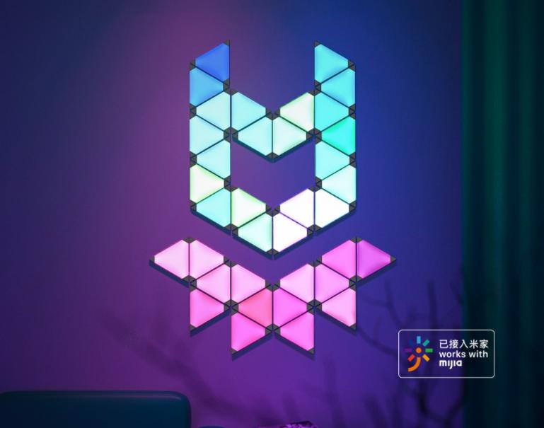 Xiaomi podjęło rękawice Nanoleaf i zaprezentowało własne panele świetlne