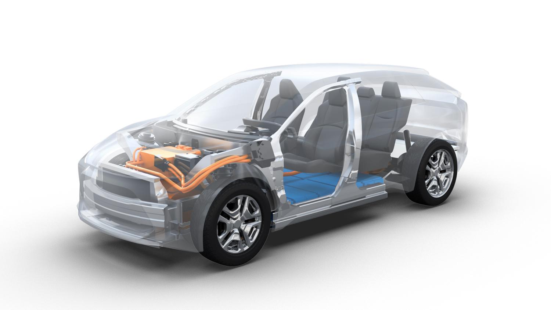 Nowa platforma e-TNGA to kolejny krok Toyoty w kierunku pełnej elektryfikacji (fot. Toyota)