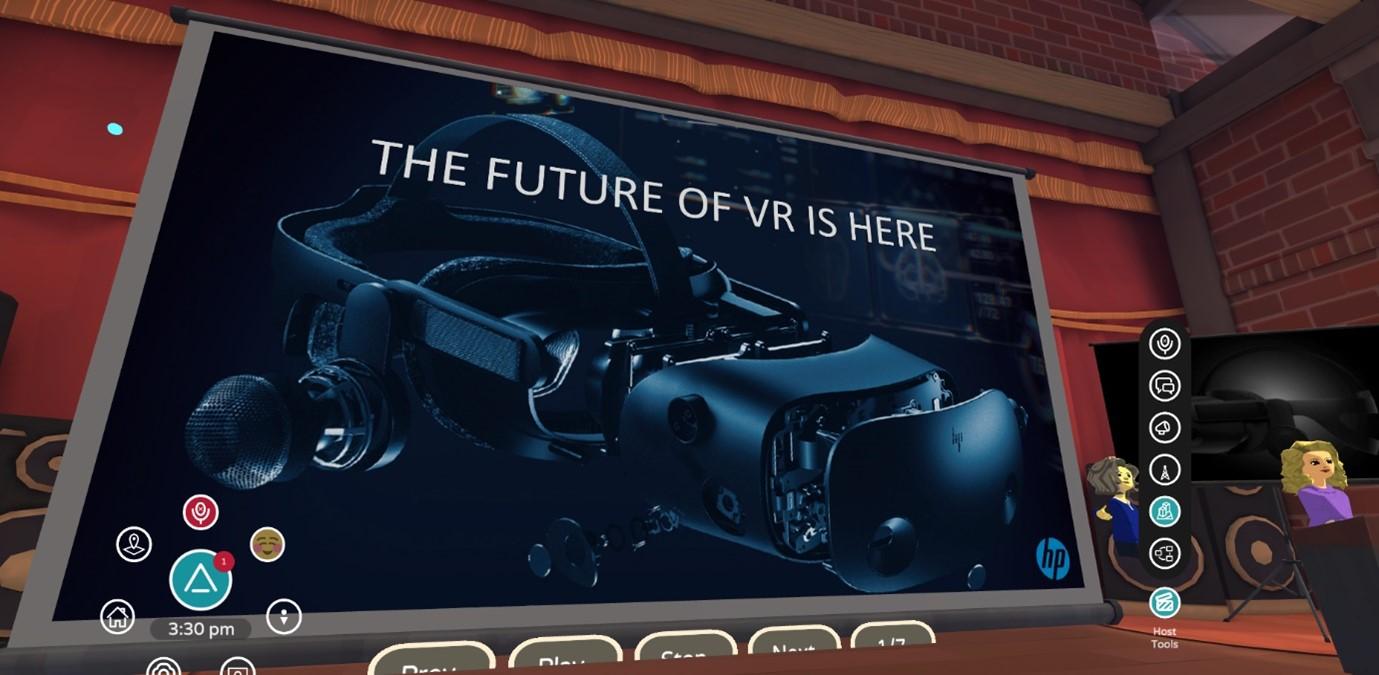 HP Reverb G2 Omnicept Edition VR fot. HP
