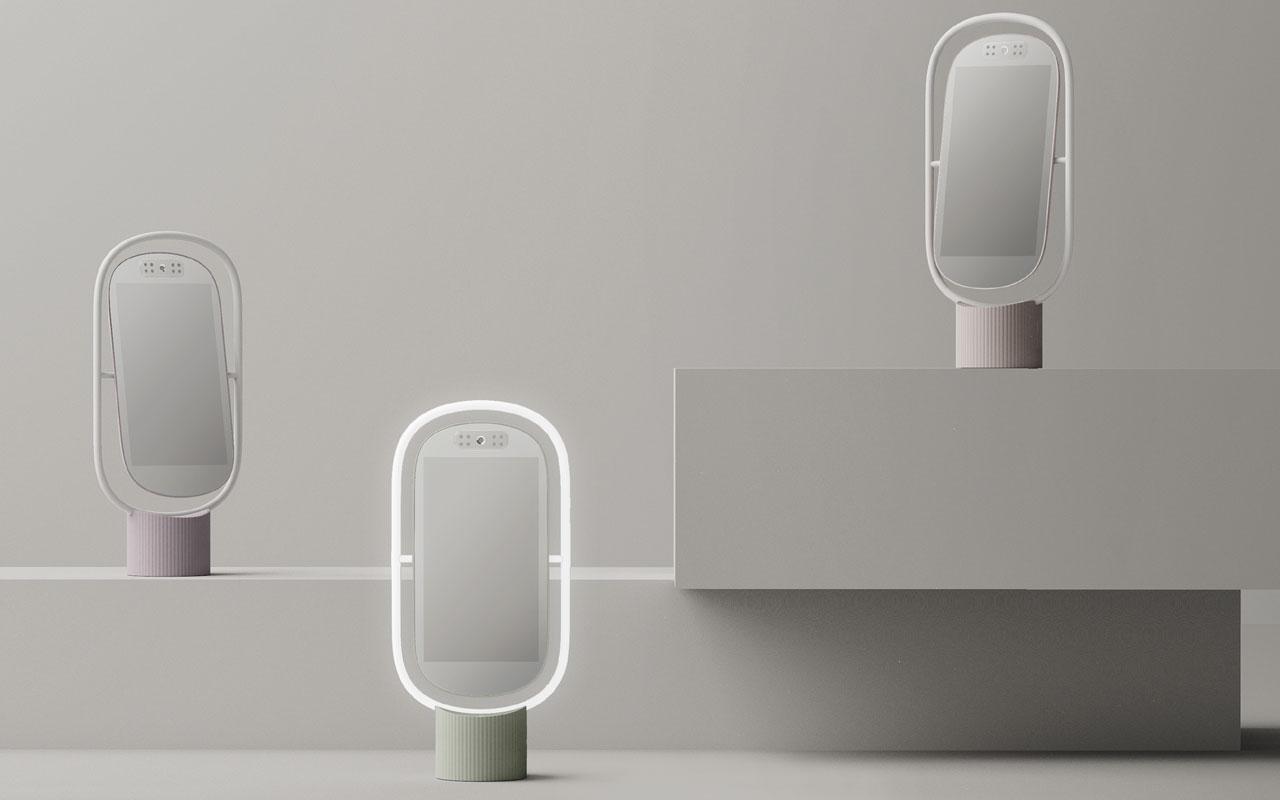 Inteligentne lustro, które podpowie, jak zadbać o swoją skórę. Oto Lululab Lumini PM