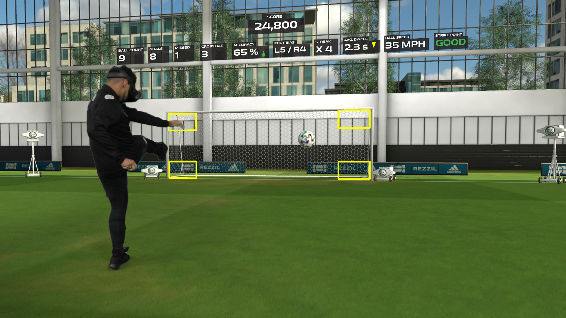 VR przyszłością gier piłkarskich? Rezzil Player 21 dostępny na Viveport