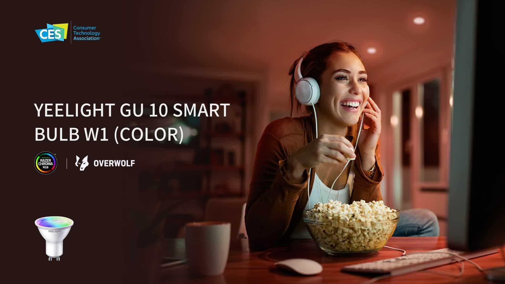 Yeelight GU10 Smart Bulb W1