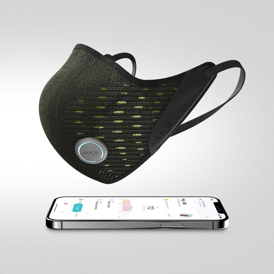AirPop Active+, czyli jak stworzyć inteligentną maseczkę