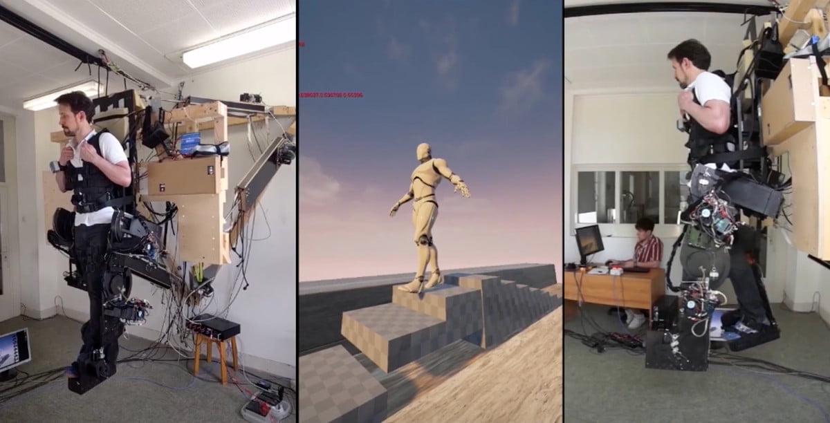 Holotron - egzoszkielet VR
