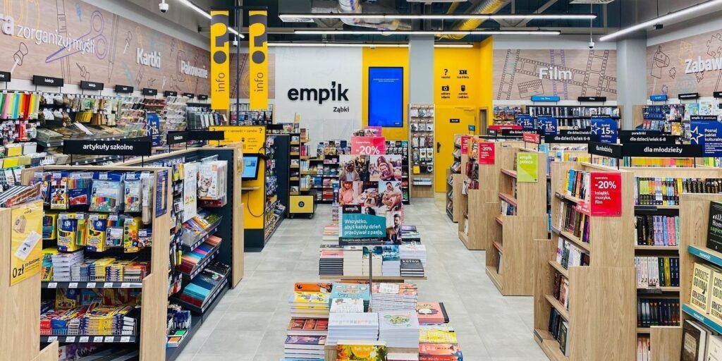 Sztuczna inteligencja wybierze miejsca na nowe salony Empik