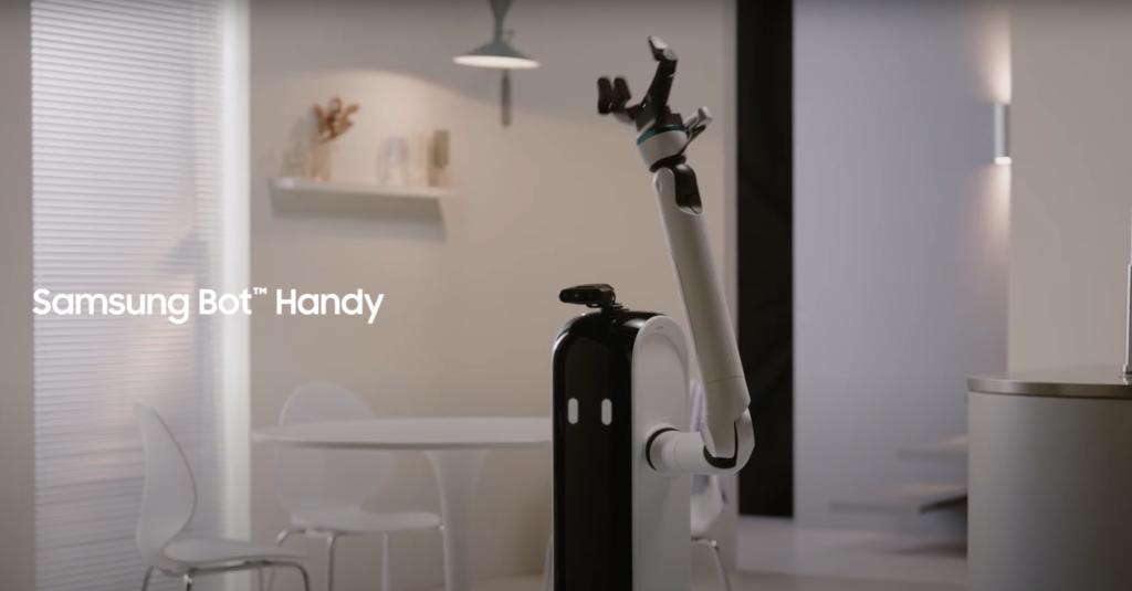 Roboty Samsunga przypomną o przerwie w pracy i... naleją wina
