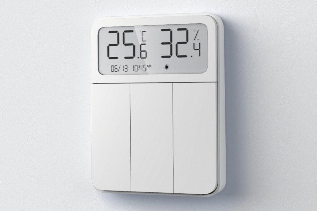 Nowość od Xiaomi: termostat wbudowany w panel przełączników