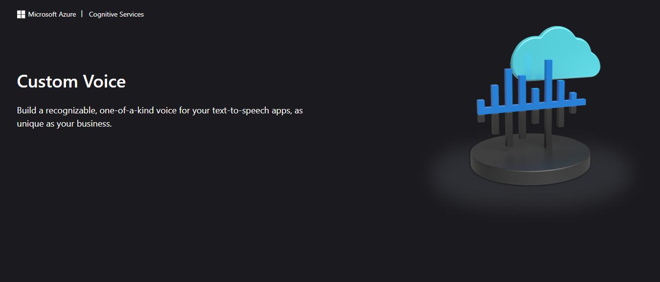 Microsoft Custom Neural Voice