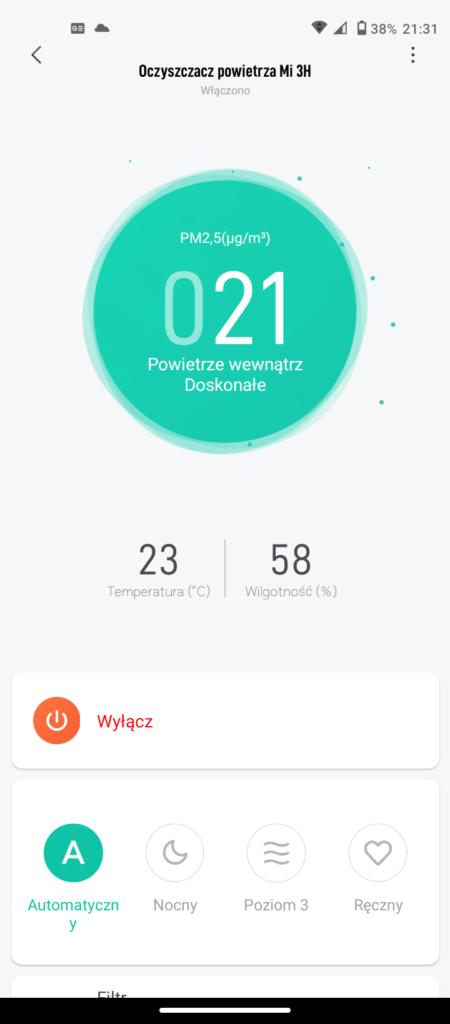Recenzja Xiaomi Mi Air Purifier 3H - tym razem zabrakło integracji...