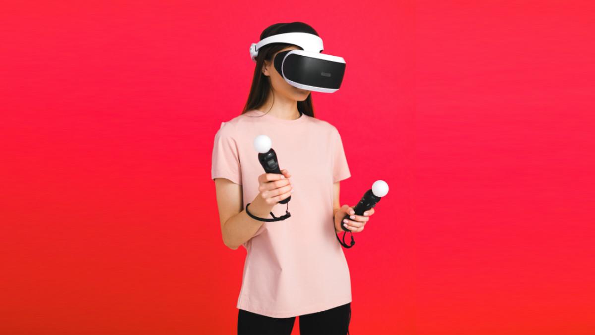 Gogle VR virtual reality Promocje Sale Pexels