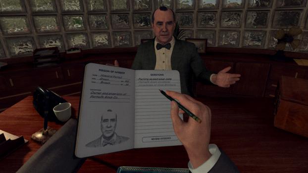 L A Noire The VR Case Files