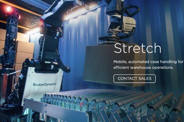 Stretch - nowy robot Boston Dynamics do pracy w magazynach