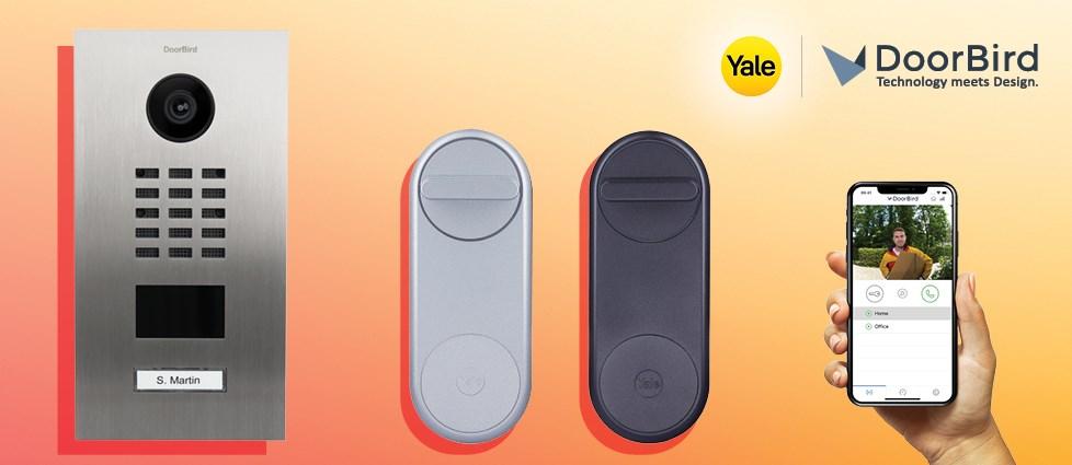 Domofon zintegrowany z zamkiem dla pełnej kontroli drzwi: Yale Linus Smart Lock i IP DoorBird