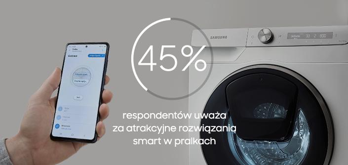 Samsung pralka badanie
