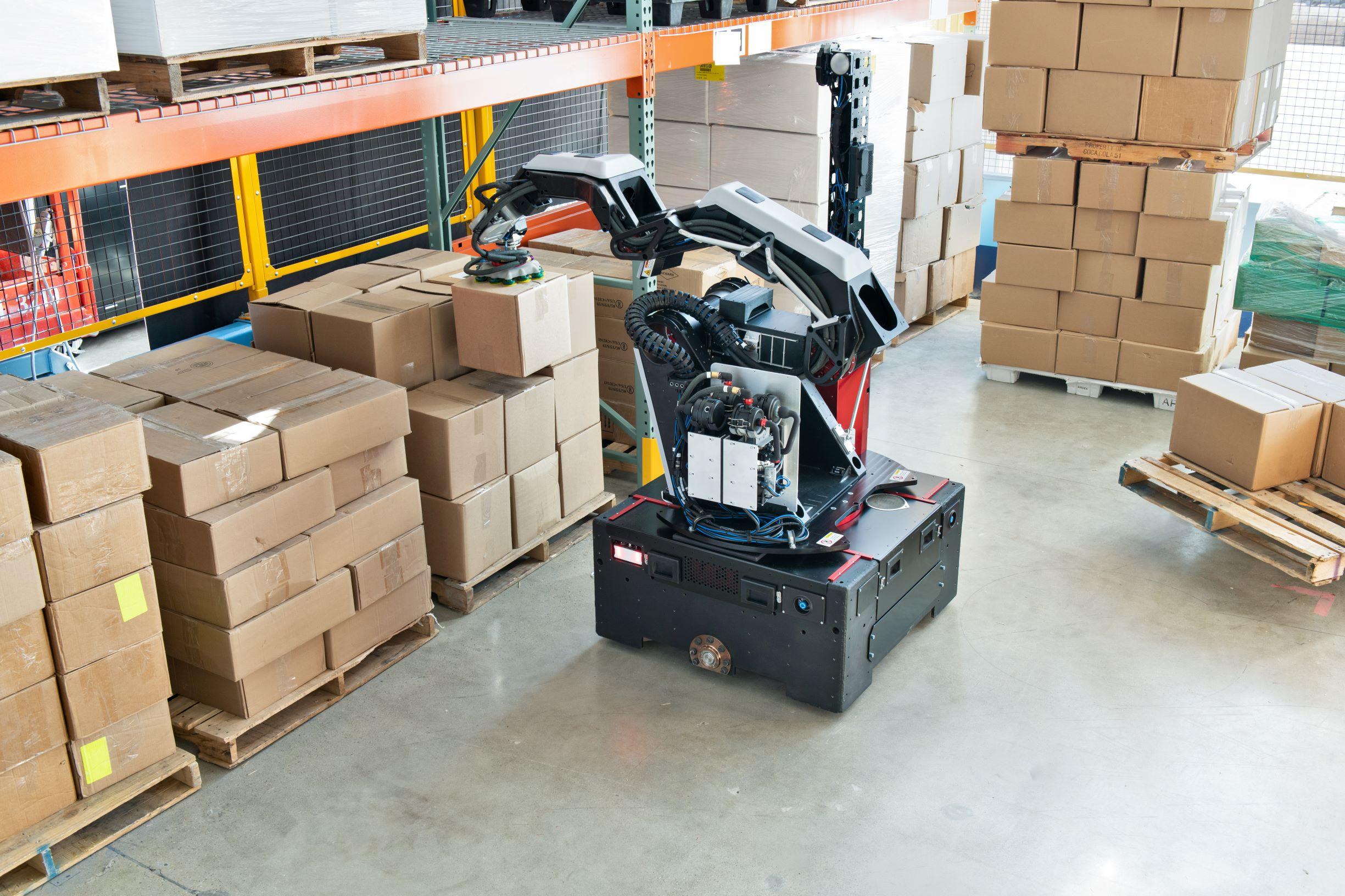 Boston Dynamics Stetch
