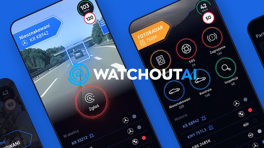 WatchOUT! - polska aplikacja z AI jako inteligentny asystent kierowcy