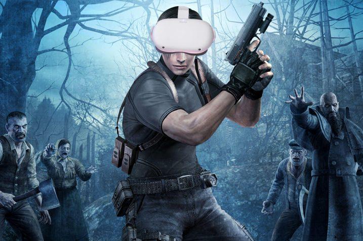 Resident Evil 4 VR Oculus Quest 2