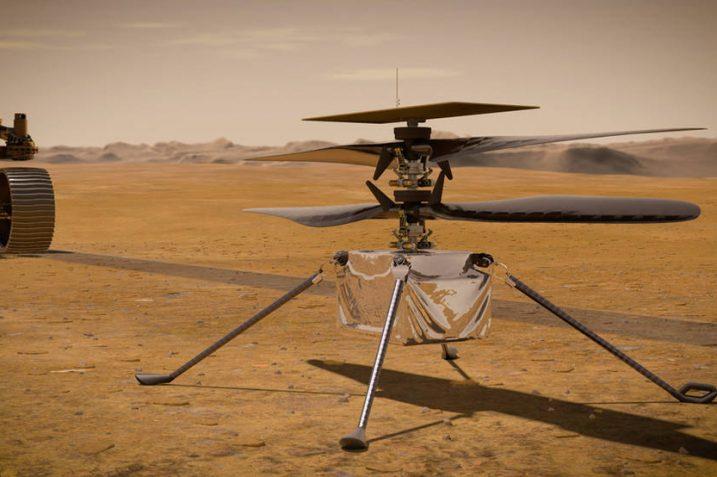 Co łączy Xperię Z2 i marsjański helikopter NASA? Procesor!