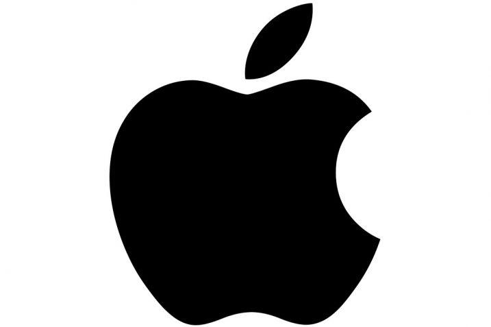 Obrazek przedstawia logo firmy Apple.