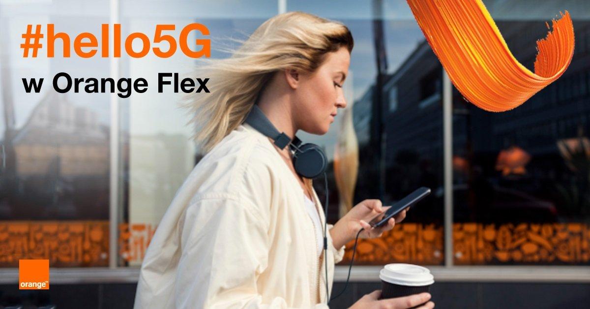 Testuj 5G przez 3 miesiące za złotówkę z Orange Flex!