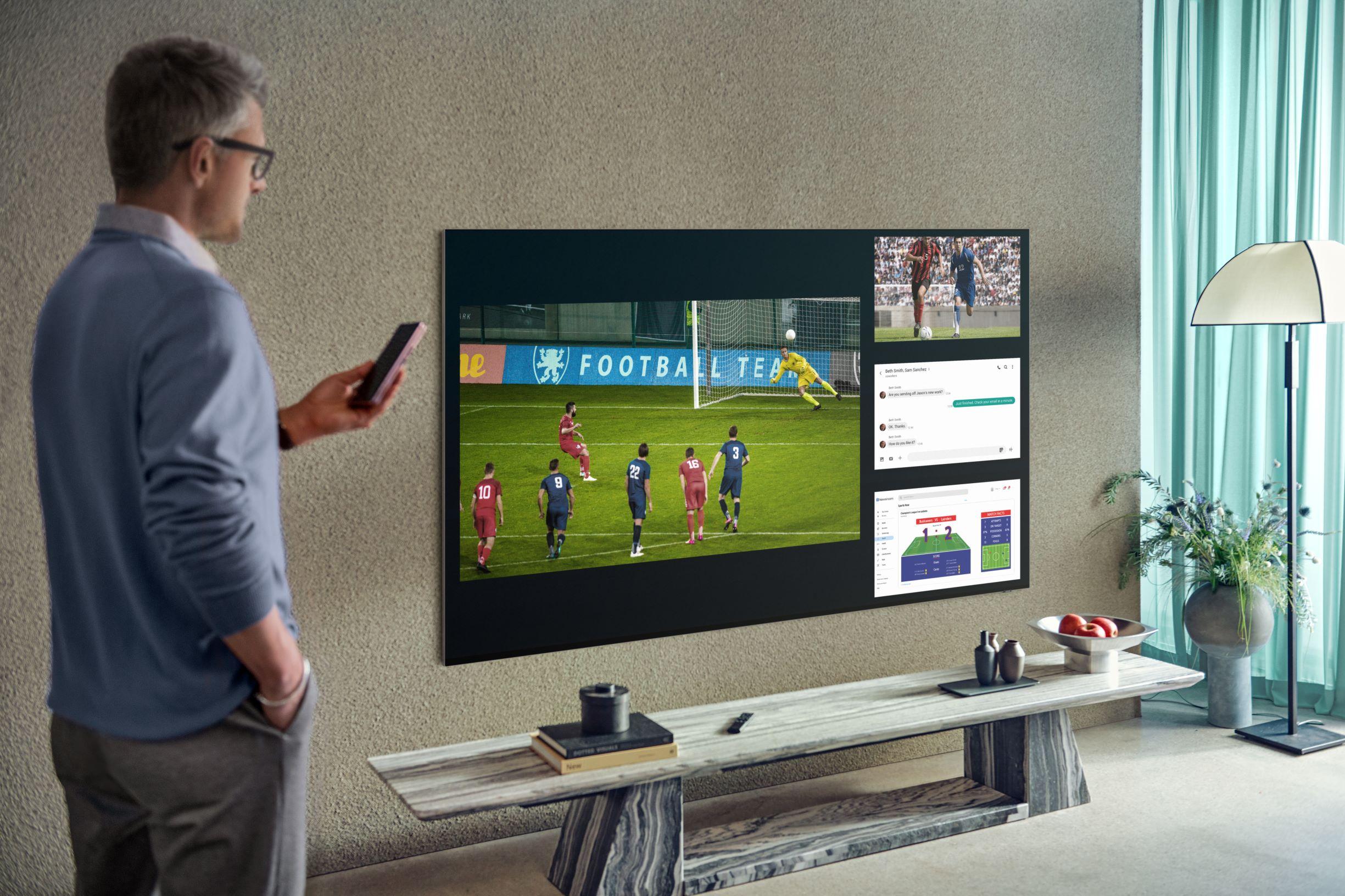 Samsung TV fot. Samsung