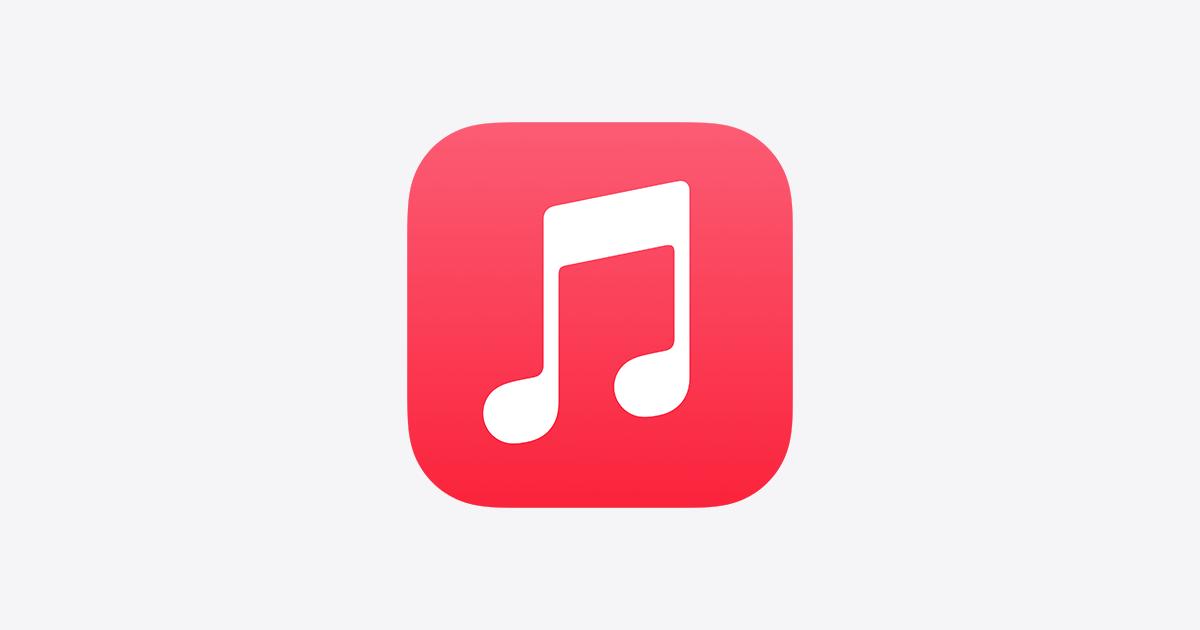 Obrazek przedstawia logo aplikacji Apple Music, które niedługo otrzyma funkcję Apple Music Lossless.