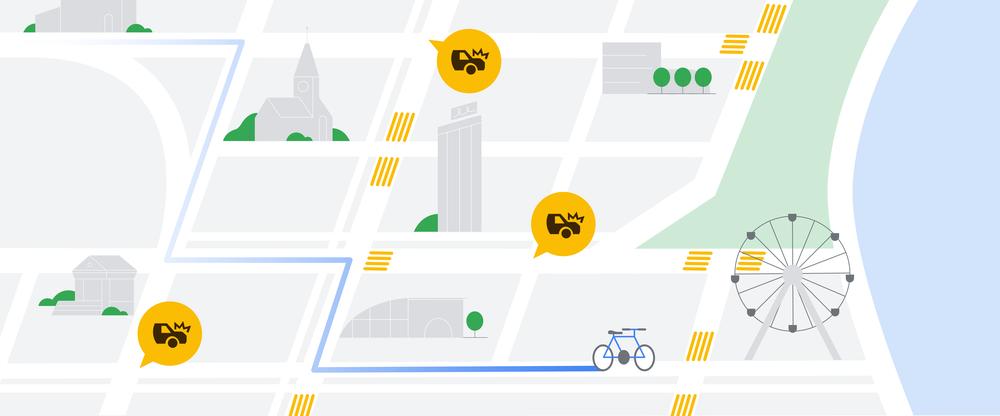 Sztuczna Inteligencja w Mapach Google sprawi, że będziemy jeździć bezpieczniej