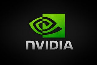 Obrazek przedstawia logo firmy NVIDIA.