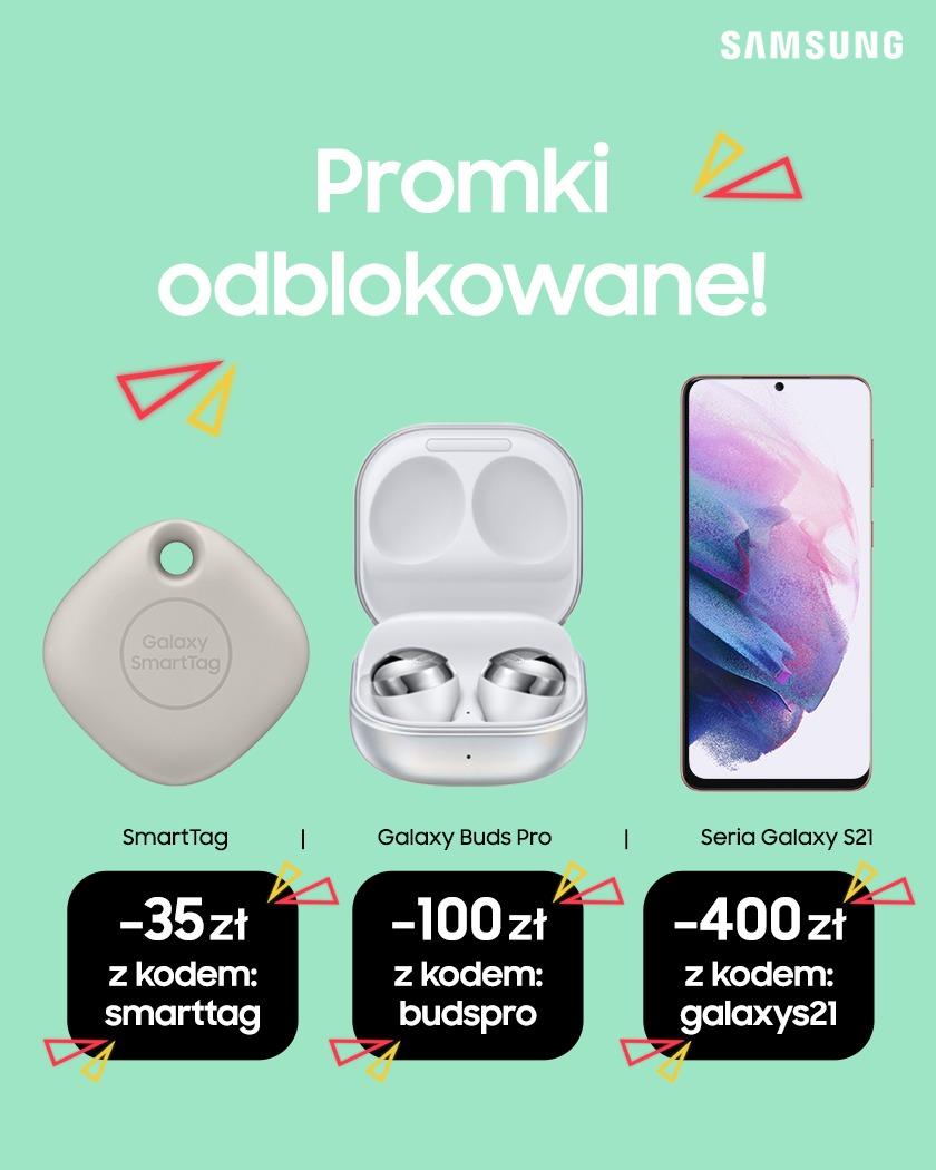 Samsung Galaxy SmartTag promocja