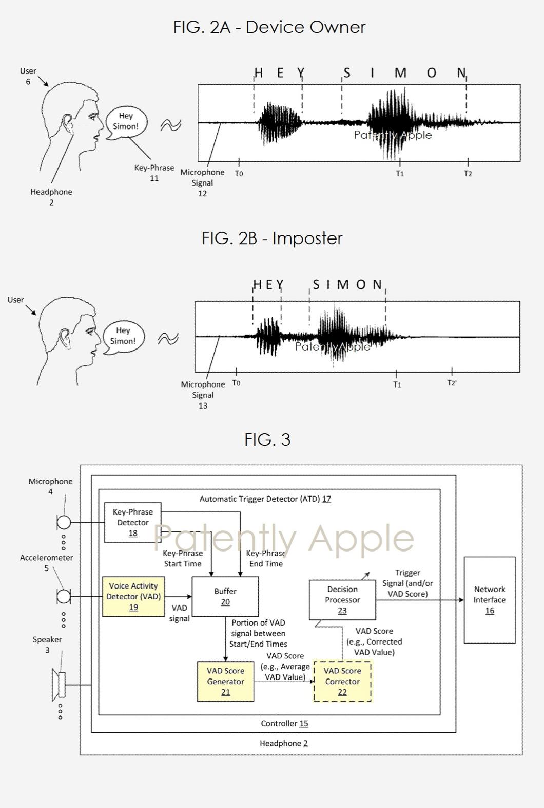 Obrazek przedstawia proces działania nowej funkcji, którą Apple chce wprowadzić do Siri.