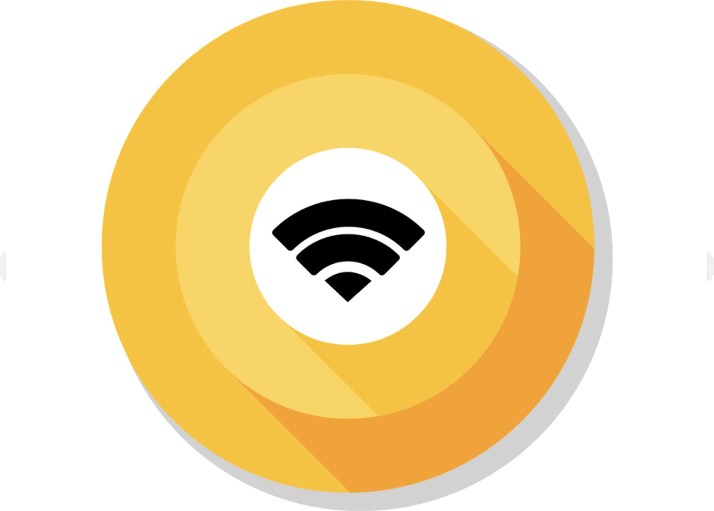 Obrazek przedstawia logo Wi-Fi.