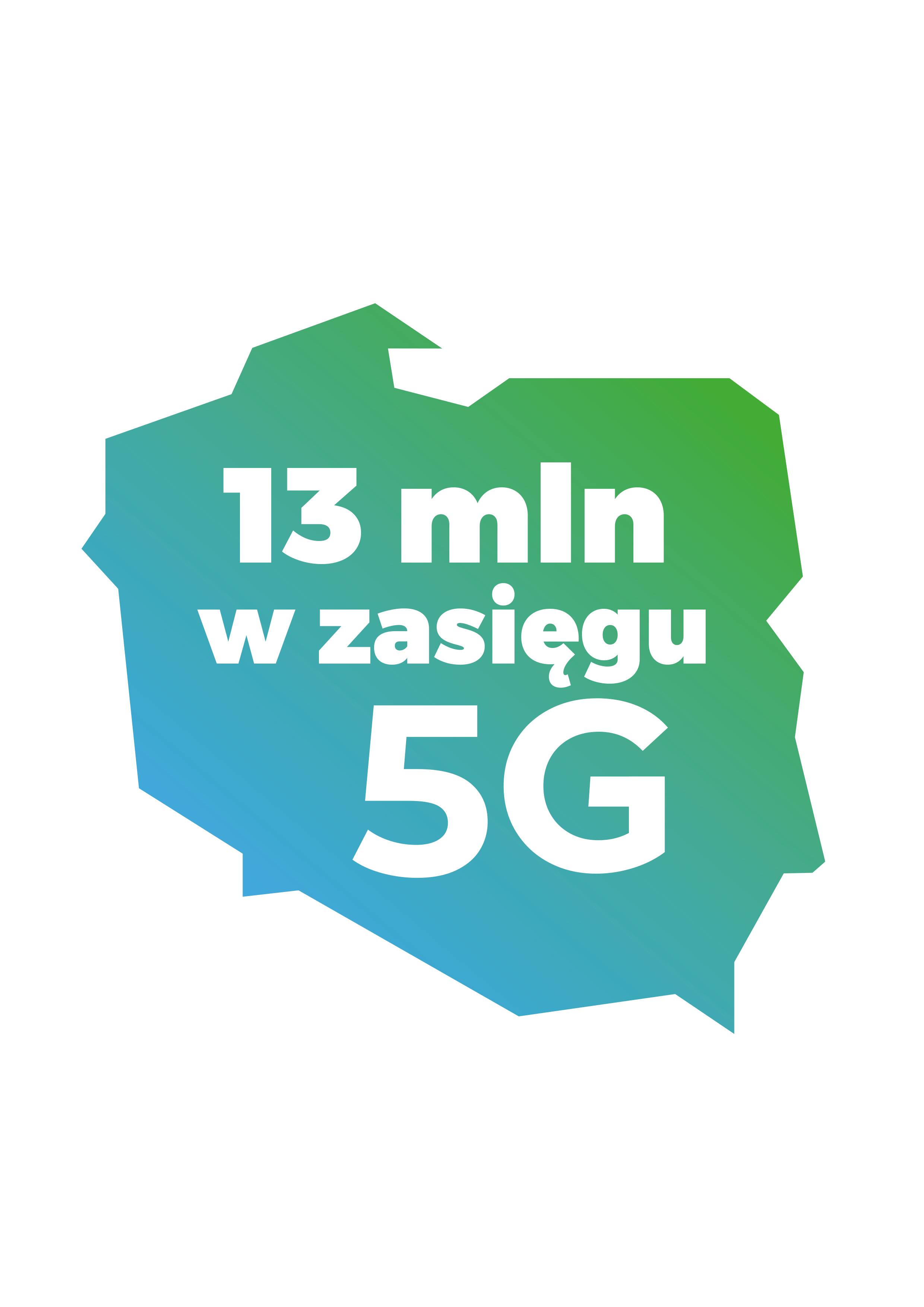 Plus: już 13 milionów mieszkańców Polski może korzystać z naszego 5G