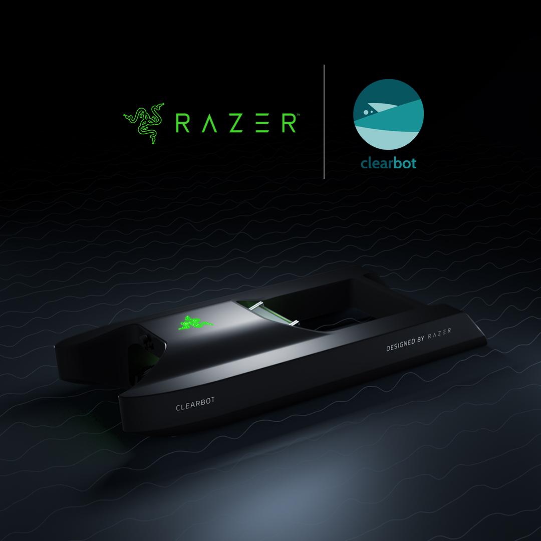 Razer i Clearbot opracowały robota, który posprząta oceany